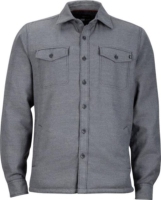 Marmot M's Ridgefield LS Shirt Slate Grå